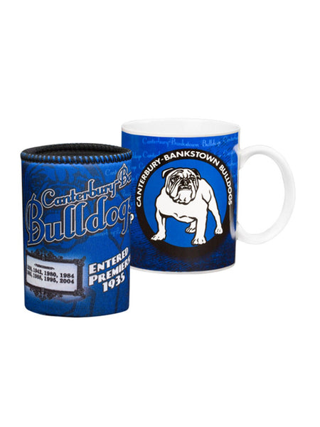 Bulldogs NRL 2013 Heritage Mug and Cooler Pack - Planet Superhero