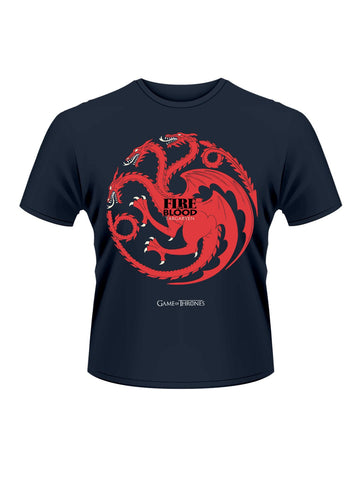Fire And Blood T-Shirt - Planet Superhero