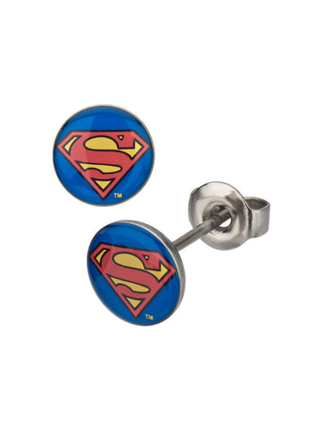 Superman Logo Studs - Planet Superhero