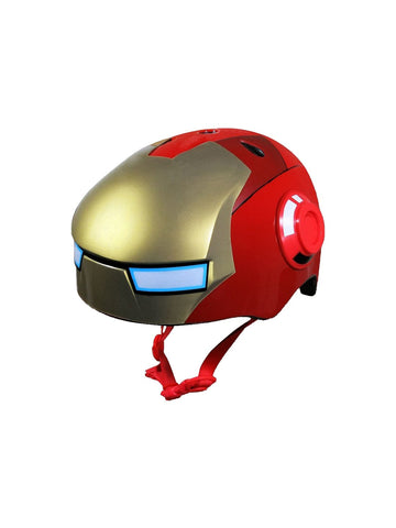 Iron Man Kids Bike Helmet