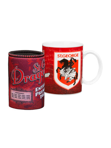 Dragons Heritage Coffee mug and cooler gift pack - Planet Superhero