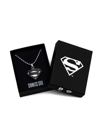 Man Of Steel black Pendant Chain