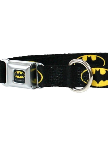 Batman Symbols Dog Collar