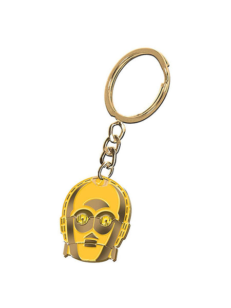 Star Wars C3P0 Metal Keychain - Planet Superhero