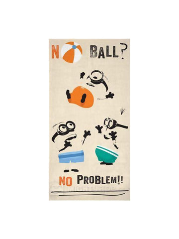 Despicable Me No Ball No Problem Beach Towel - Planet Superhero