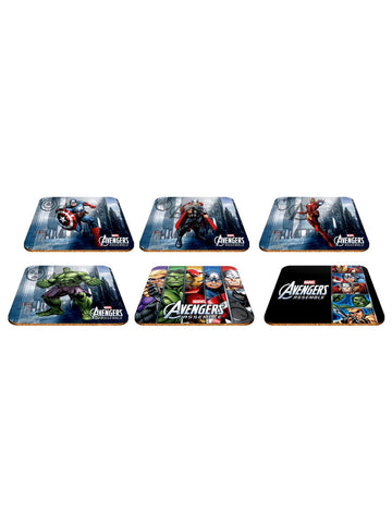 Avengers S/6 cork coasters - Planet Superhero