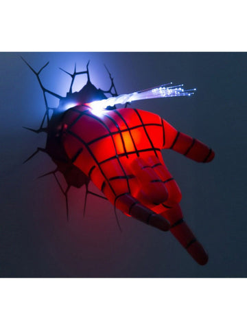 Spiderman Hand 3D Deco Light