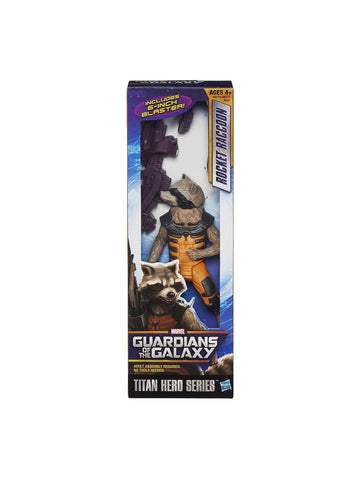 "Marvel Guardians Of The Galaxy Rocket Raccoon 12"" - Planet Superhero"