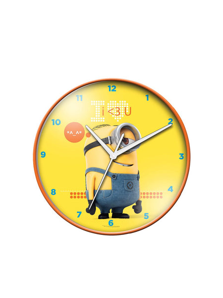 Despicable me wall clock