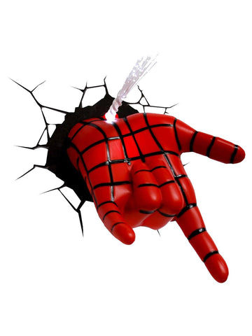 Spiderman Hand 3D Deco Light - Planet Superhero