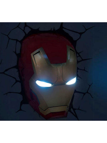 Iron Man - Iron Man Helmet 3D Light