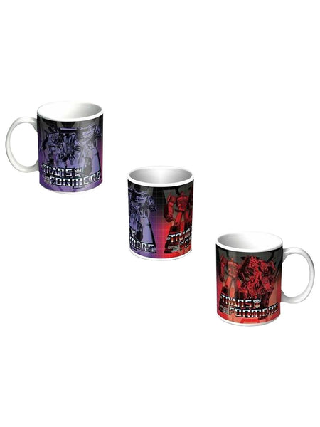 Transformers Autobot & Deception 330ml Coffee Mug - Planet Superhero