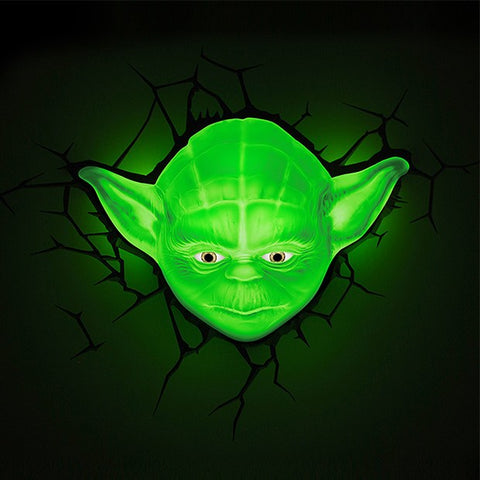 Star Wars 3D Night Light - Yoda - Planet Superhero