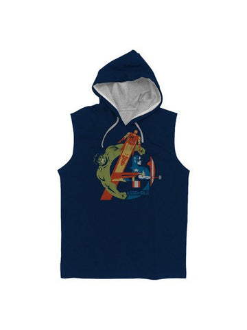 Avengers Are Here Hoodie - Planet Superhero