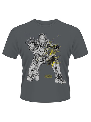Avengers Iron Man Splash T-Shirt - Planet Superhero