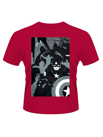 Avengers Age Of Ultron Black T-Shirt - Planet Superhero