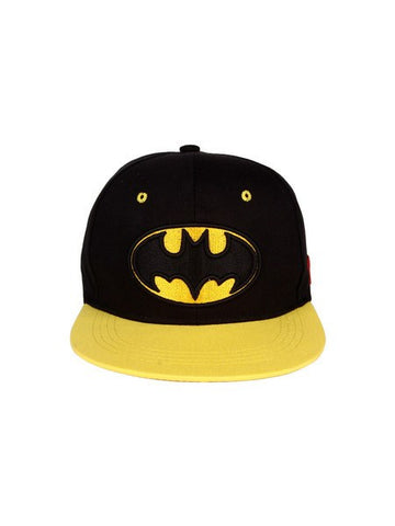 Batman Black And Yellow Logo Cap - Planet Superhero