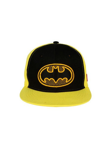 Batman Stylish Logo Black Cap - Planet Superhero