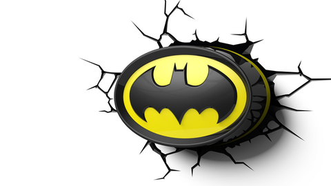 Batman Logo 3D Light - Planet Superhero