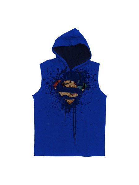 Blue Eyed Wonder Superman Hoodie - Planet Superhero