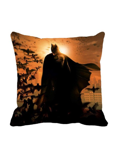The Knight Is Over Cushion Cover Original - Planet Superhero