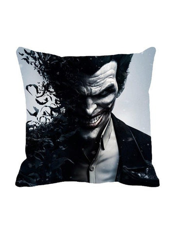 Joker Black Cushion Cover Original - Planet Superhero