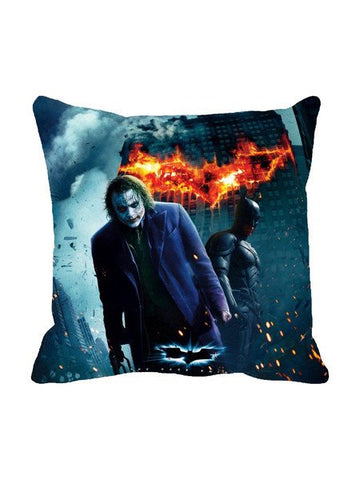 The Joker And Batman Destruction Cushion Cover Original