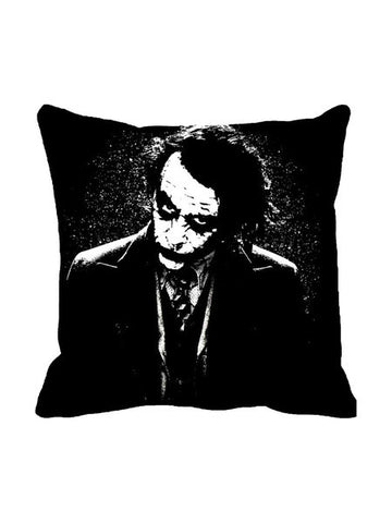 Joker Face Black Cushion Cover Original - Planet Superhero