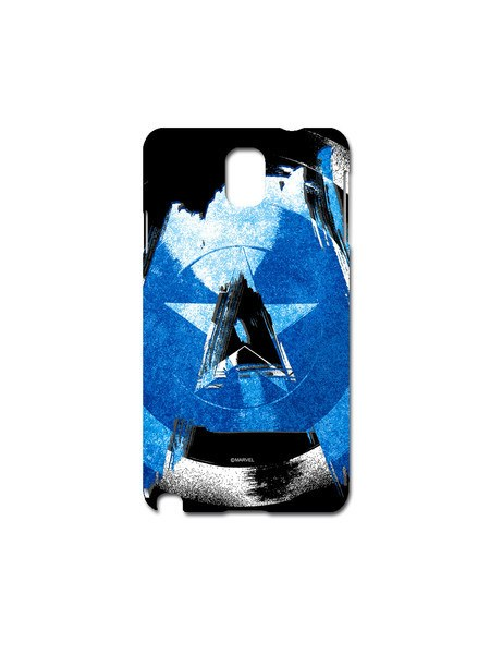 Cap Am blue Samsung Note 3 Case - Planet Superhero