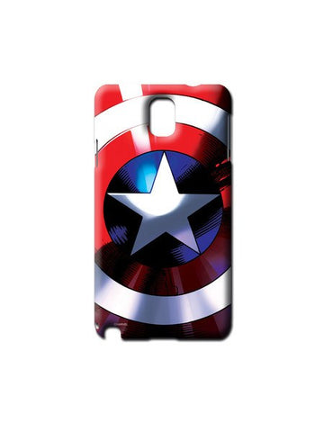Captains Shield Samsung Note 3 Case - Planet Superhero
