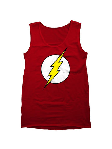 Flash Logo Red Vest - Planet Superhero