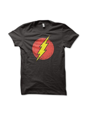 Flash Logo T-Shirt - Planet Superhero