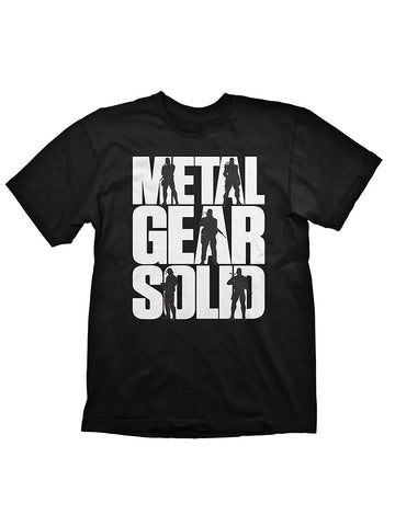 Metal Gear Solid Logo T-Shirt - Planet Superhero