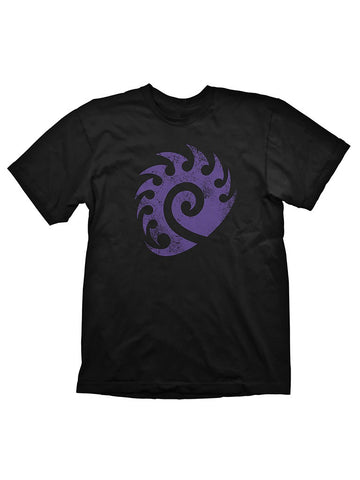 Starcraft 2 Zerg Logo Purple Vintage T-Shirt - Planet Superhero