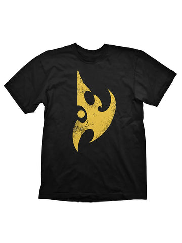 Starcraft 2 Protoss Logo Yellow T-Shirt - Planet Superhero