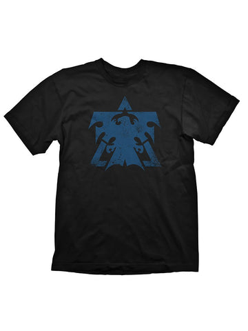 Starcraft 2 Terran Logo blue Vintage T-Shirt - Planet Superhero