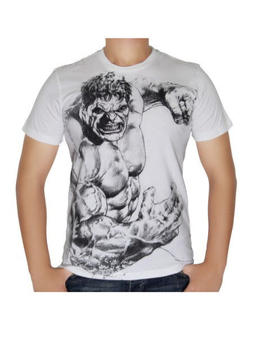 Hulk Sketch T-Shirt - Planet Superhero
