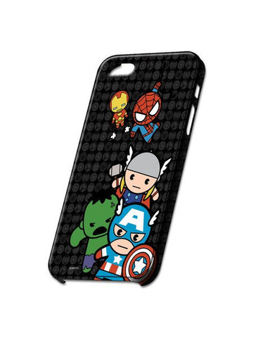 Kawaii Art Marvel Comics iPhone Case - Planet Superhero