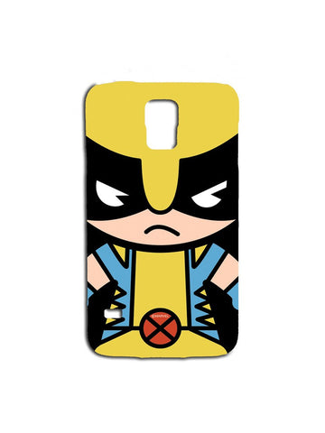 Kawaii Art Wolverine Samsung S5 Case