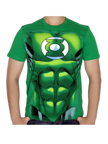 Green Lantern Light Green T-shirt - Planet Superhero