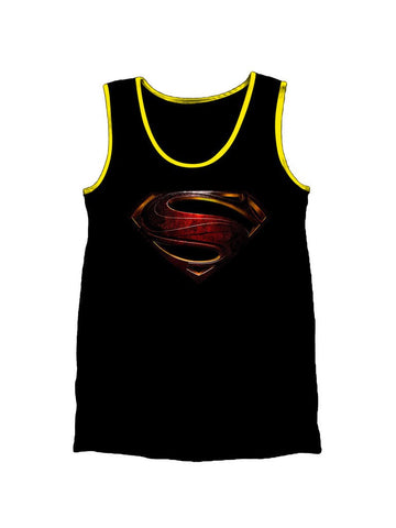 Man Of Steel Logo Vest - Planet Superhero