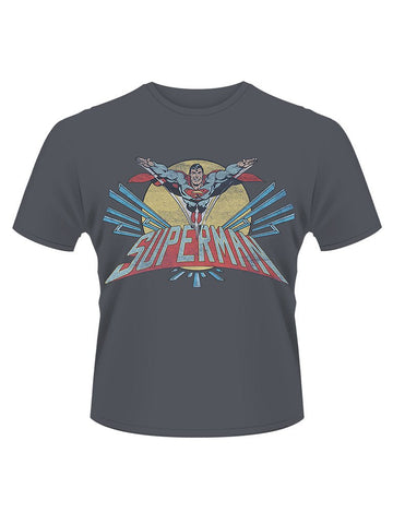 Superman Flying Logo T-Shirt - Planet Superhero
