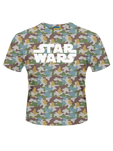 Star Wars Boba Fett Camo T-Shirt - Planet Superhero