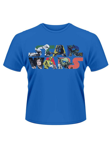 Star Wars Comic Logo T-Shirt - Planet Superhero