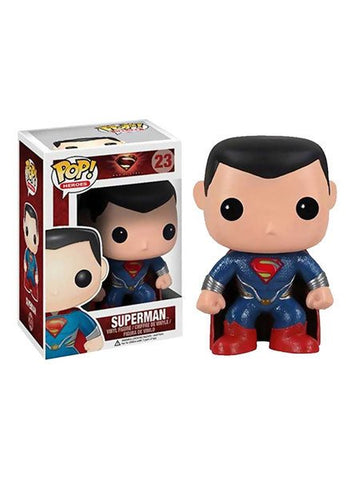 Pop Heroes Superman Vinyl Figure - Planet Superhero