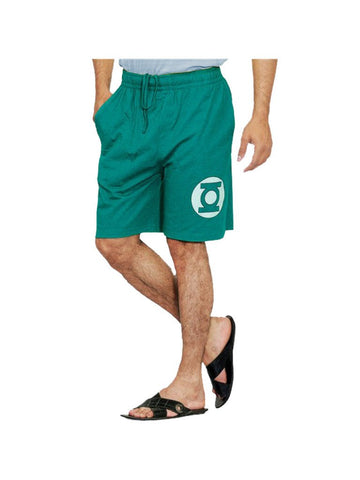 Green Lantern Logo Shorts - Planet Superhero