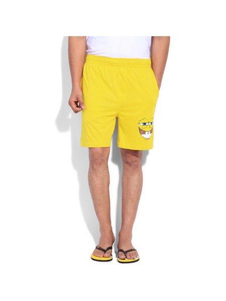Spongebob Face Logo Shorts - Planet Superhero