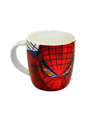 Spiderman Face white Mug - Planet Superhero