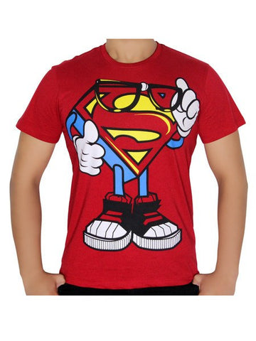 Superman dextor Logo T-shirt - Planet Superhero