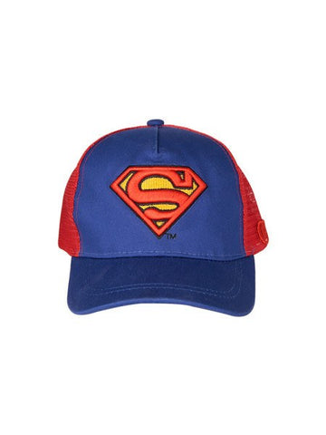 Superman Logo Blue Cap - Planet Superhero
